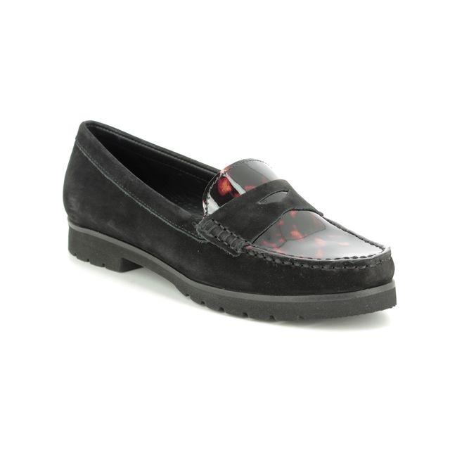Begg Shoes Loafers - Black patent - 29102/30 CORVETTOISE