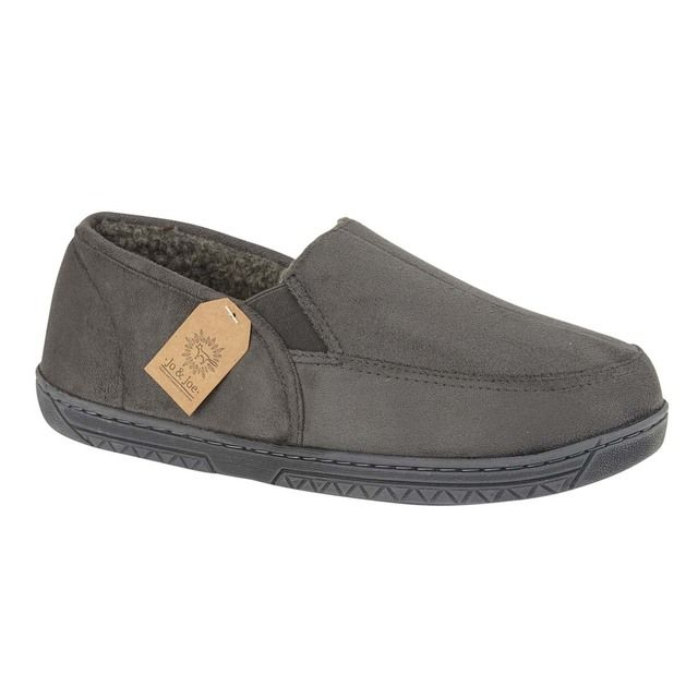 Begg Shoes Cumbria 0638-00 Grey slippers