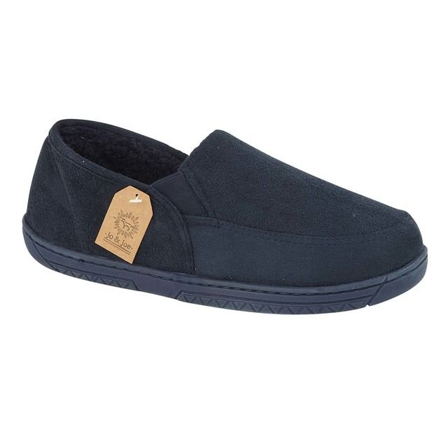 Begg Shoes Slippers - Navy - 0638/70 CUMBRIA