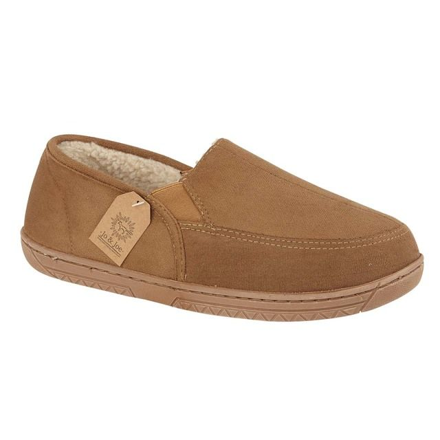 Begg Shoes Slippers - Tan - 0639/11 CUMBRIA