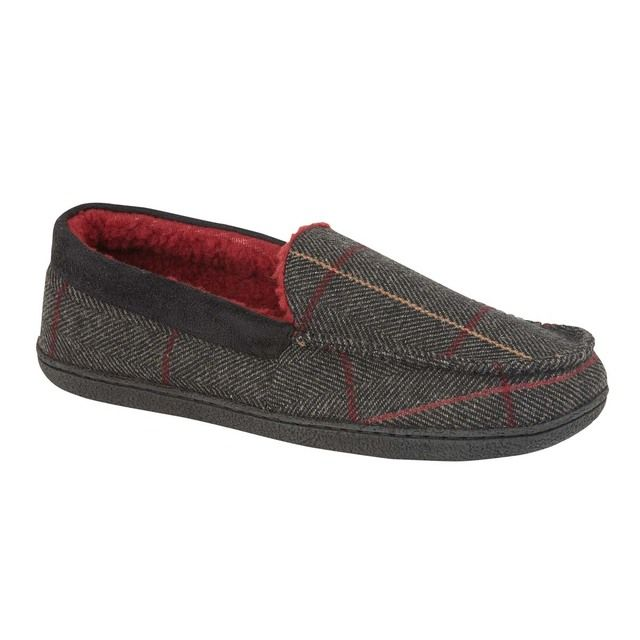 Begg Shoes Slippers - Grey - 0607/00 GLENGARY