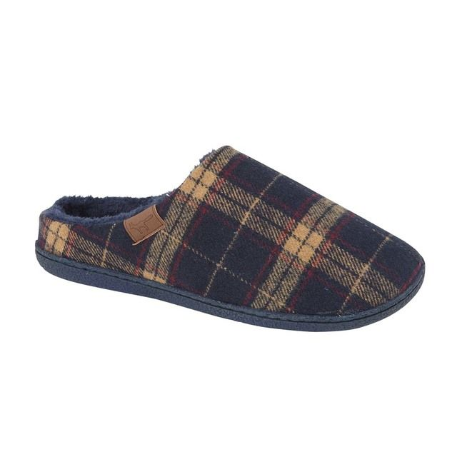 Begg Shoes Slippers - Navy - 0595/70 MALTON