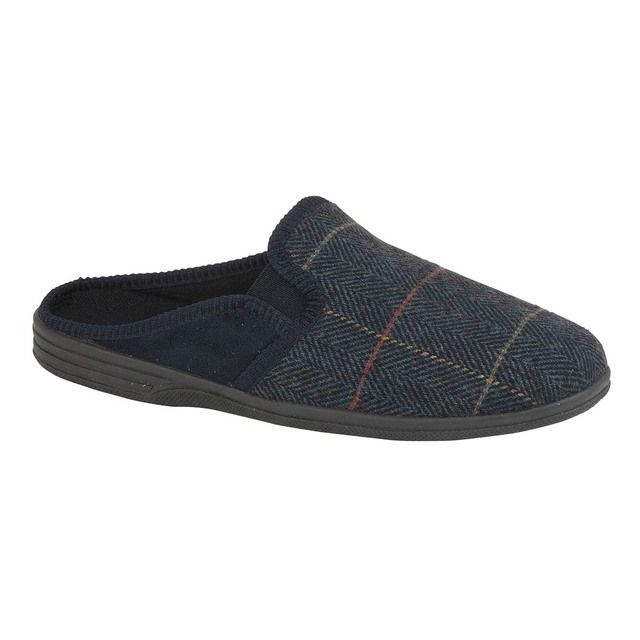Begg Shoes Slippers - Navy - 0599/70 NATHAN