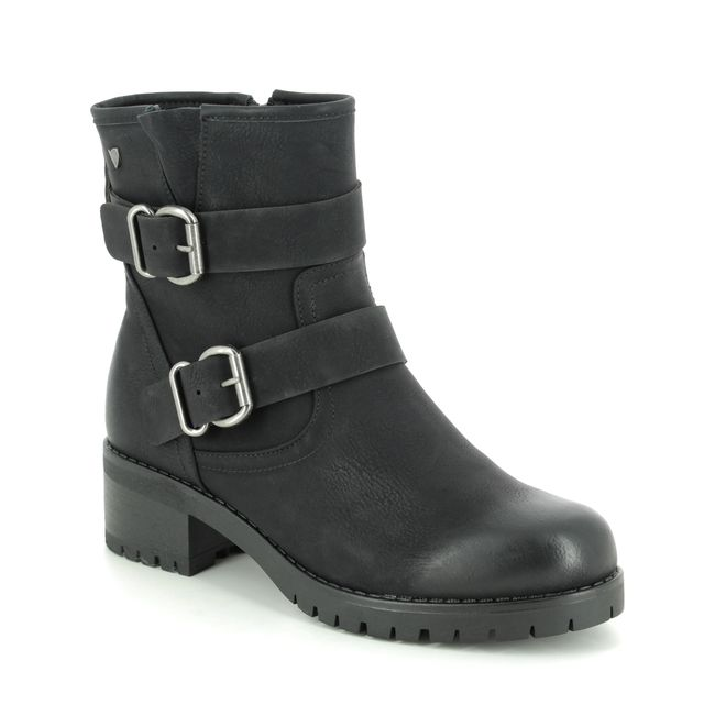 Begg Exclusive Nitonte F71120-80 Black Ankle Boots