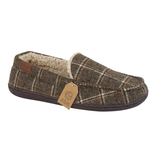 Begg Shoes Swaledale 0792-20 Brown slippers