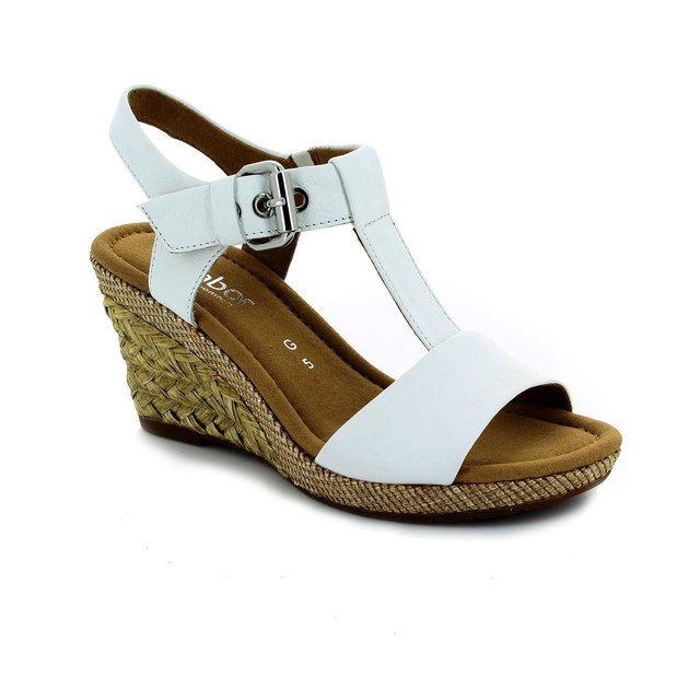 Gabor Karen Milan 42.824.50 White sandals
