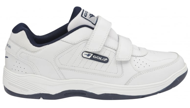 Begg Shoes Trainers - White - AMA202X60 BELMONT VELCRO