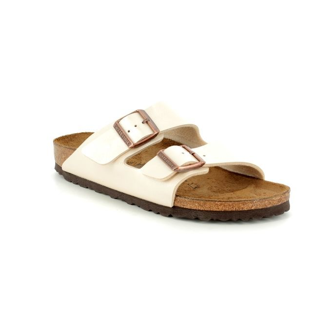 Birkenstock Sandals - Oyster Pearl - 1009/921 ARIZONA NARROW FIT LADIES