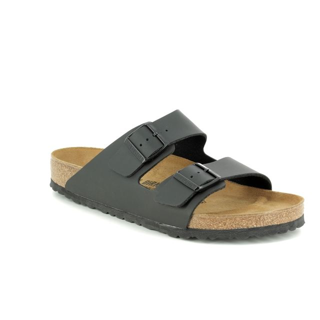 Birkenstock Sandals - Black - 0051791 ARIZONA MENS REGULAR FIT