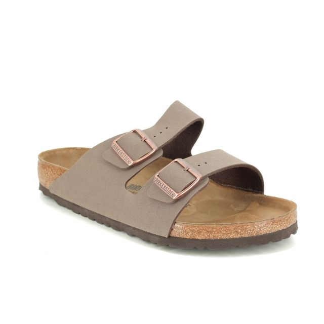Birkenstock Sandals - Brown nubuck - 0151181 ARIZONA MENS