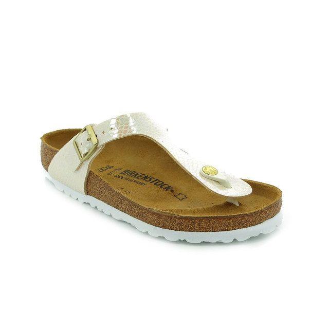 Birkenstock Gizeh 847431 White sandals