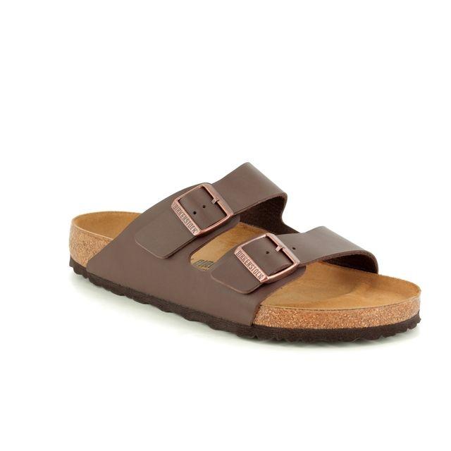 Birkenstock Sandals - Brown - 051/701 ARIZONA MENS