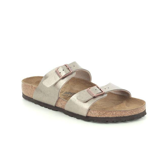 Birkenstock Sydney 1016168 Taupe Slide Sandals