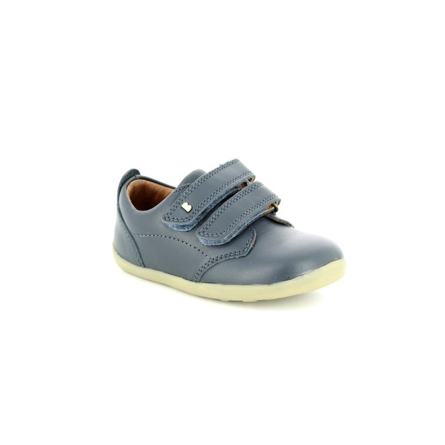 Bobux First Shoes - Navy leather - PORT Step Up