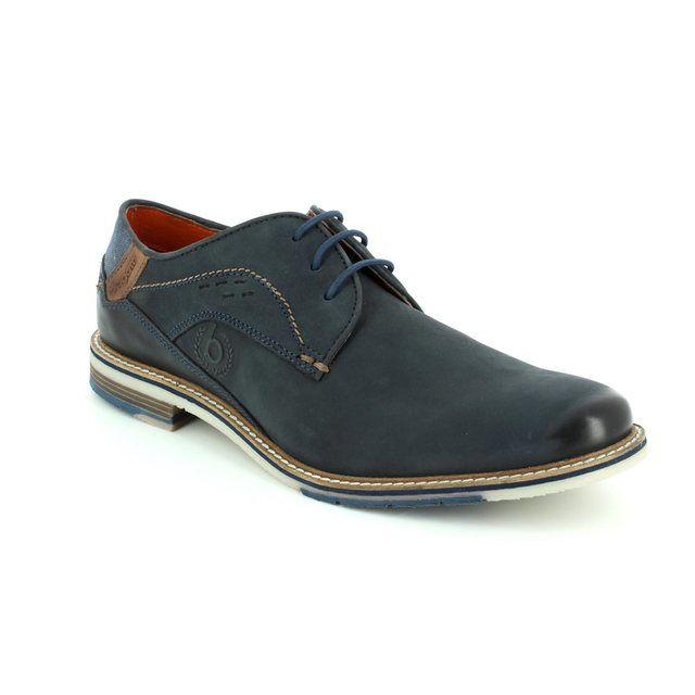 Bugatti Formal Shoes - Navy nubuck - 25902/4100 ADAMO