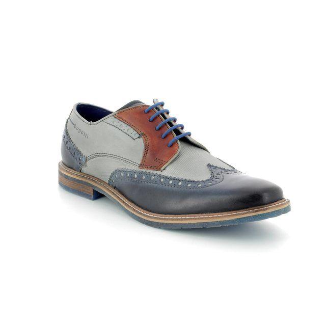 Bugatti Fashion Shoes - Navy-tan - 31225904/4115 ADAMO
