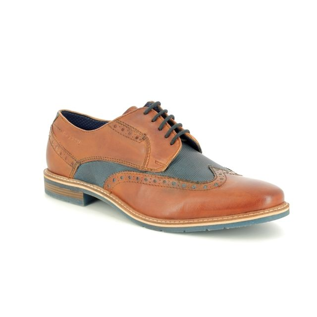 Bugatti Brogues - Tan multi - 31125904/6341 ADAMO 91
