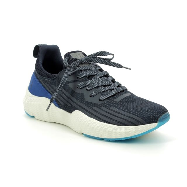 Bugatti Trainers - Navy - 34173060/4100 EXON LACE