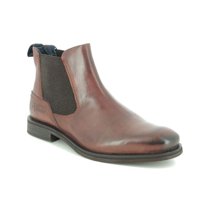 Bugatti Chelsea Boots - Brown leather - 321A0830/6000 KIANA EXKO