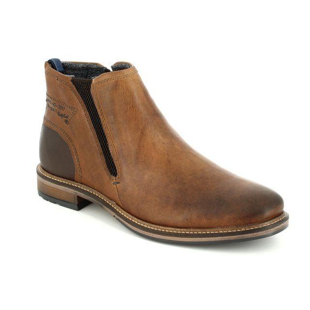 Bugatti Marcello 37730-6300 Tan boots