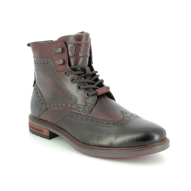 Bugatti Boots - Dark grey multi - 31137752/1160 MARCELLO BROGUE