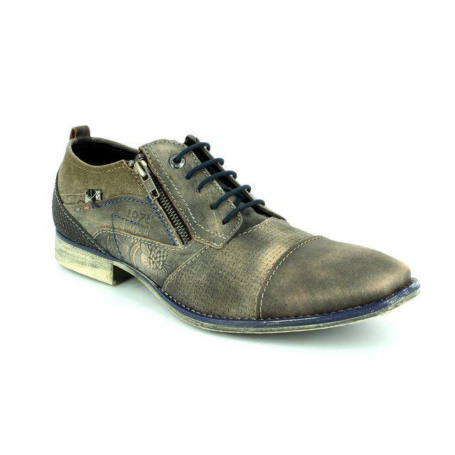 Bugatti Fashion Shoes - Dark Grey - 11001/1111 MIKA EVO