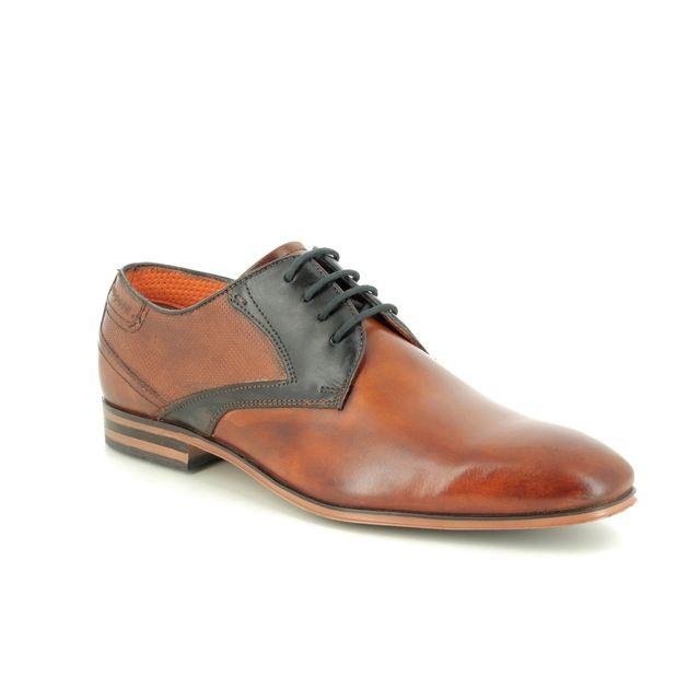 Bugatti Formal Shoes - Tan Leather  - 31125207/6341 MOSARIO