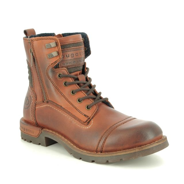 Bugatti Boots - Brown leather - 32161133/6000 SENTRA LACE
