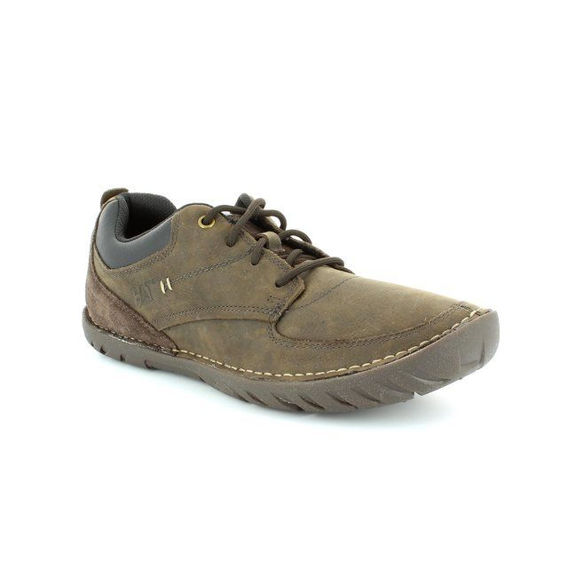 CAT Abilene Coffee 7166 Brown casual shoes