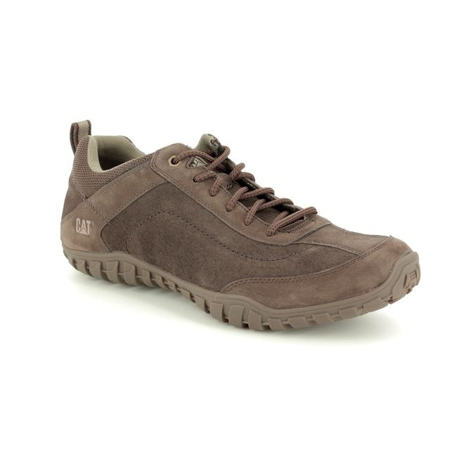 CAT Casual Shoes - Brown leather - P721360/ ARISE