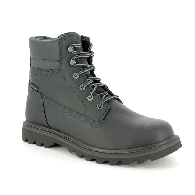 CAT Boots - Black nubuck - P721724/ DEPLETE WP
