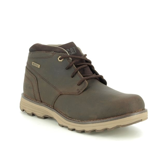 CAT Boots - Brown leather - P720686 ELUDE  WP