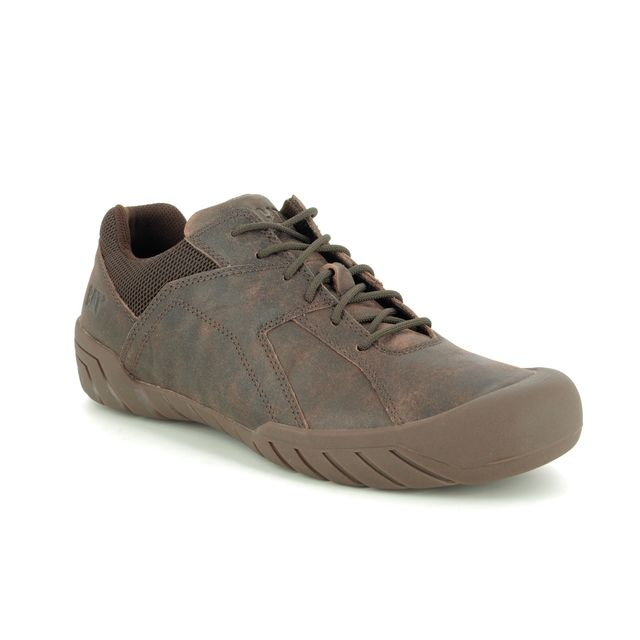 CAT Trainers - Brown leather - P723198 HAYCOX