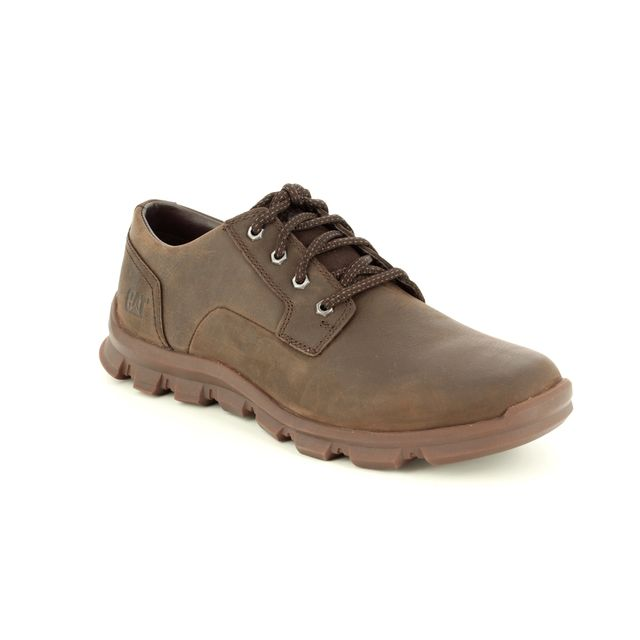 CAT Casual Shoes - Brown nubuck - INTENT P723249