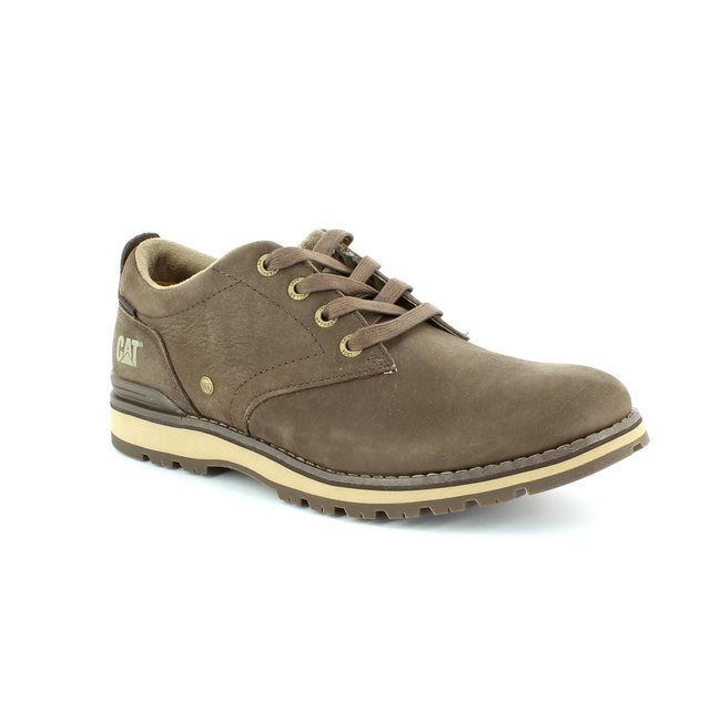 CAT Rayden 7185 Dark brown casual shoes