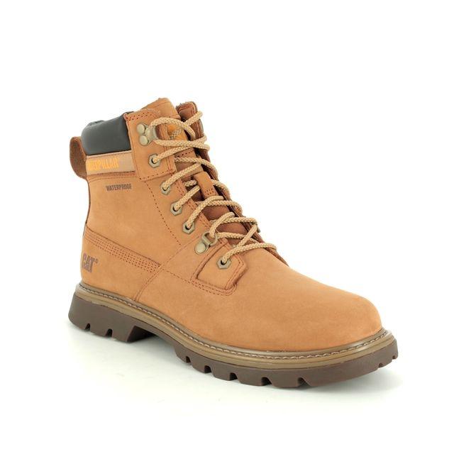 CAT Boots - Tan nubuck - P723800 RYMAN TEX
