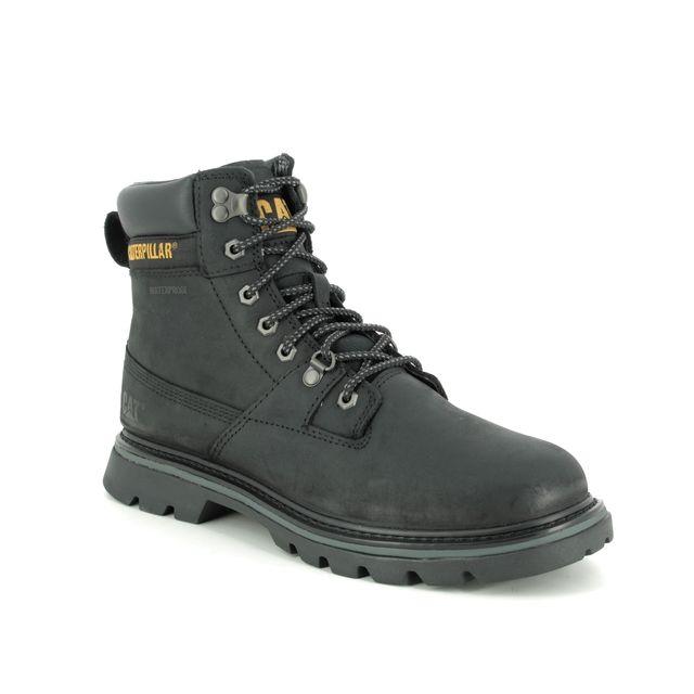CAT Boots - Black nubuck - P723801 RYMAN TEX