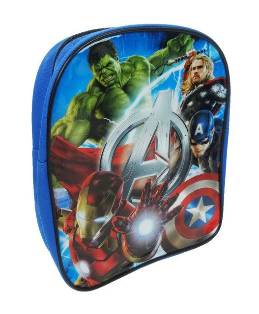 Cartoon Characters Bags - Blue multi - 1019/07 AVENGER BAG