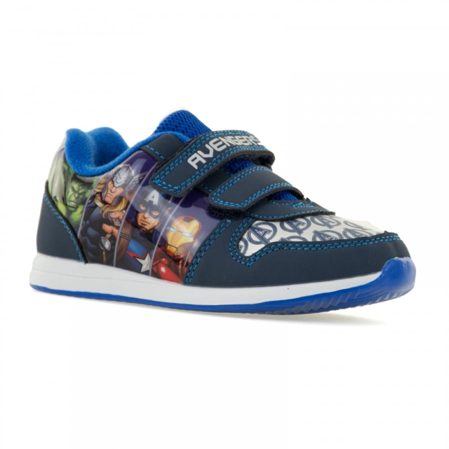 Character Bags & Shoes Avenger Jess 0562-67 Navy multi trainers