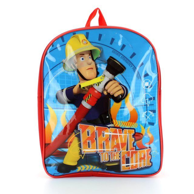 Cartoon Characters Handbag - Blue multi - 0103/57 FIREMANSAM