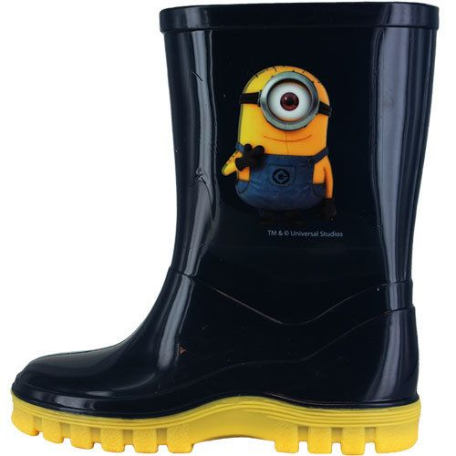 Character Bags & Shoes Wellies - Navy - 0282/3A MINION