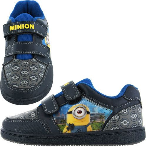 Cartoon Characters Trainers - Navy multi - 0319/5A MINIONS AXEL