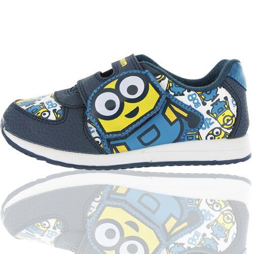 Cartoon Characters Trainers - Blue multi - 0552/27 MINIONS OGDEN