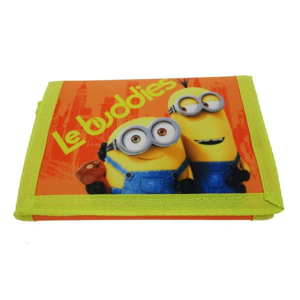 Character Bags & Shoes Minions Purse 4007-06 Yellow multi purse