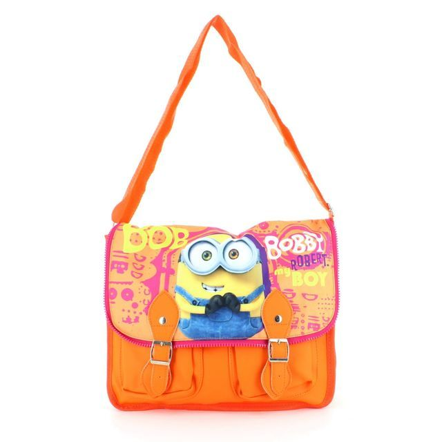 Character Bags & Shoes Minions Satche 0103-38 Red multi handbag