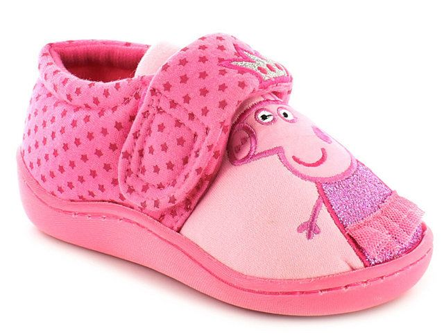 Character Bags & Shoes Slippers - Pink - 0205/6A PEPPA DANUBE