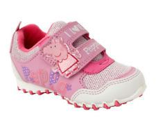 Cartoon Characters Trainers - White multi - 0018/38 PEPPA PIG RUSH