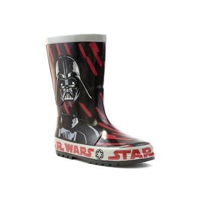 Cartoon Characters Wellies - Black multi - 0426/9A STAR WARS CRAT