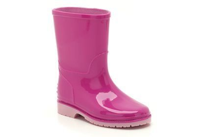Clarks Abrienna Inf F Fit Pink wellies