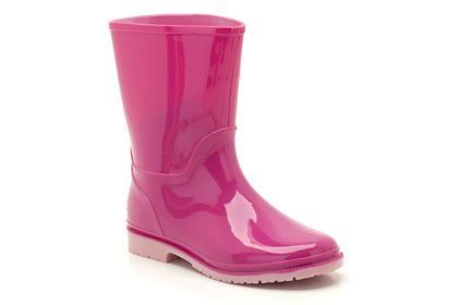 Clarks Abrienna Jnr F Fit Pink wellies